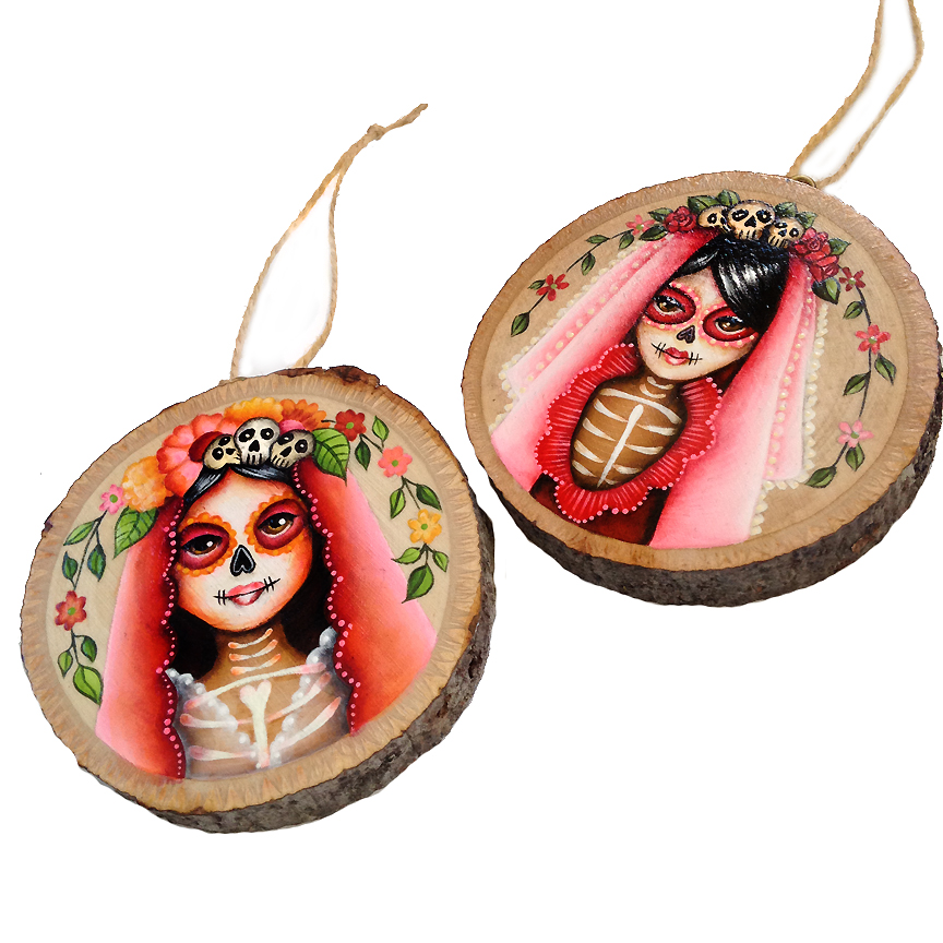 Muertita Ornaments