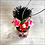 Thumbnail: Frida in Pink Mask with Heart Ornament