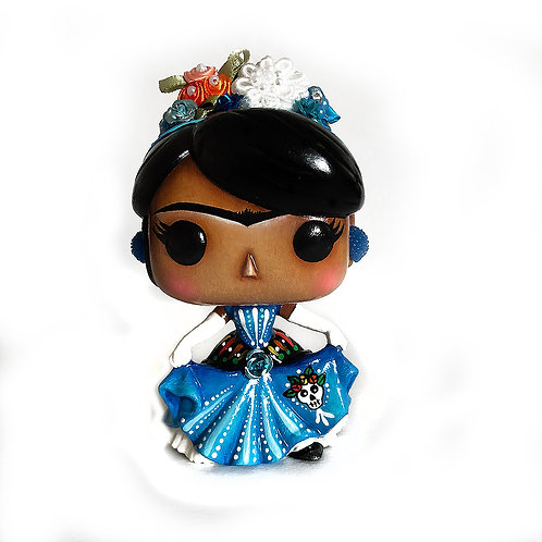 Frida Kahlo No.46 Customized Pop Vinyl