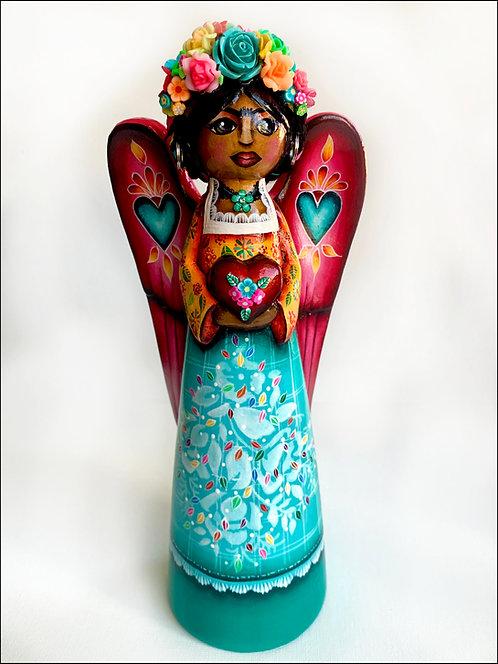Frida Kahlo With Love Angel No.1