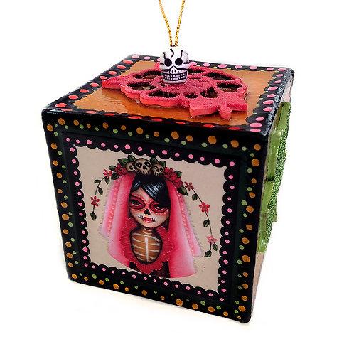 Muertita I Box Ornament