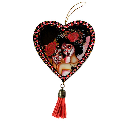 Partners Heart Ornament