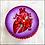 Thumbnail: Purple Anatomical Heart Keepsake Box
