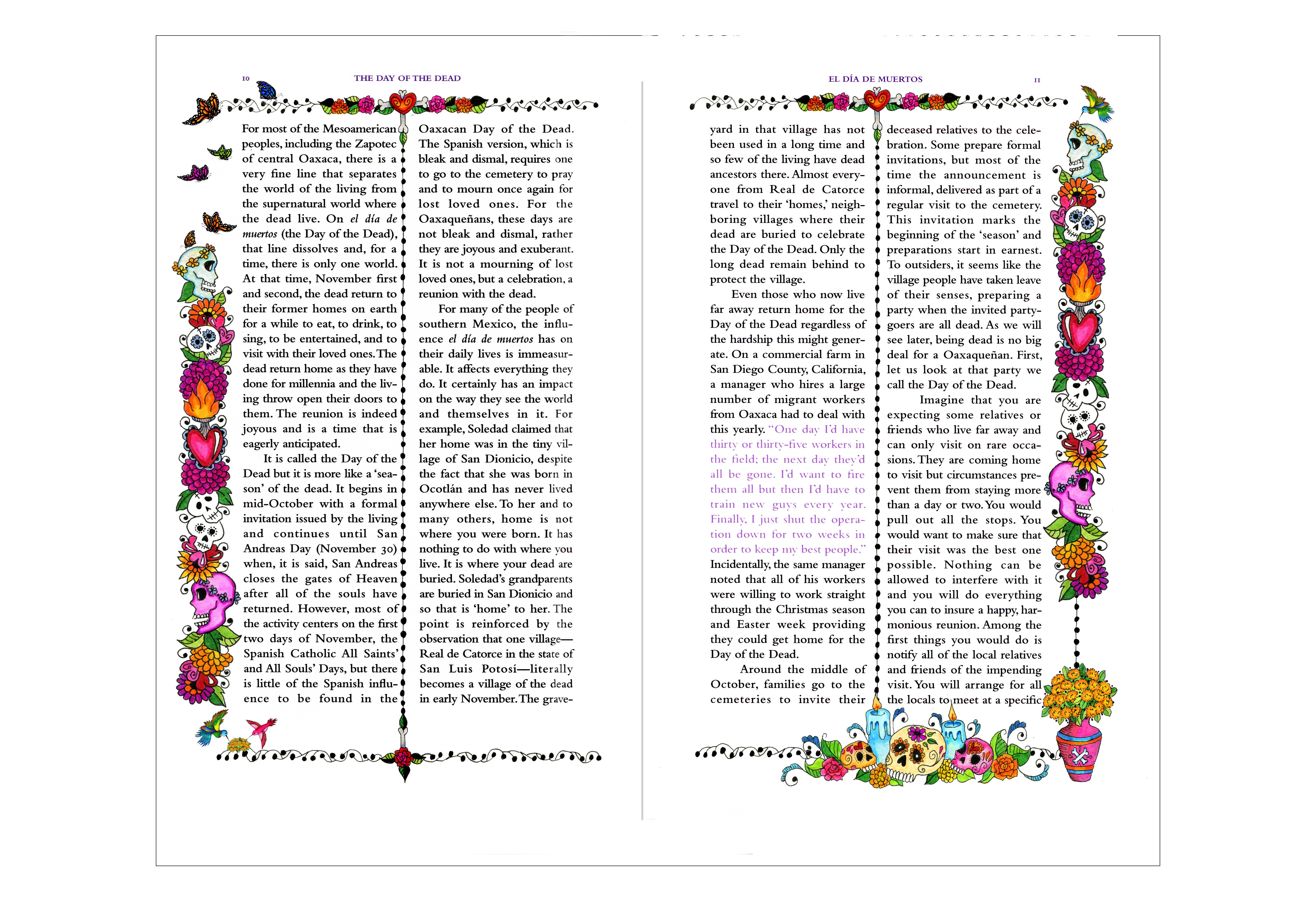 Dia De Los Muertos Book Project 2015