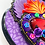 Thumbnail: Purple Sacred Heart with Black Nails
