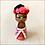 Thumbnail: Sweet Little Flowered Frida Kahlo