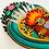 Thumbnail: Small Teal Sacred Heart with Xacto Blades