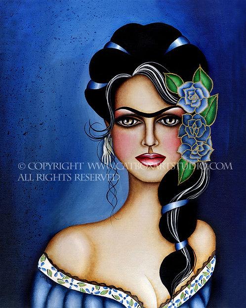 Frida En Azul