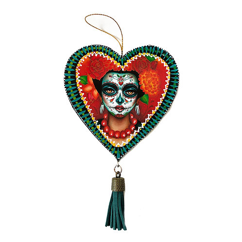 Beloved (I) Heart Ornament