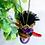 Thumbnail: Sweet Purple and Orange Winged Frida Angel Art Ornament