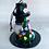 Thumbnail: Skeleton Snowman with Green Christmas Tree Art Ornament