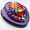 Thumbnail: Purple Sacred Heart with Black Nails