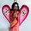 Thumbnail: Frida Kahlo Praying Angel Art Ornament