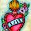 Thumbnail: Original Sacred Heart No.7 Illustration
