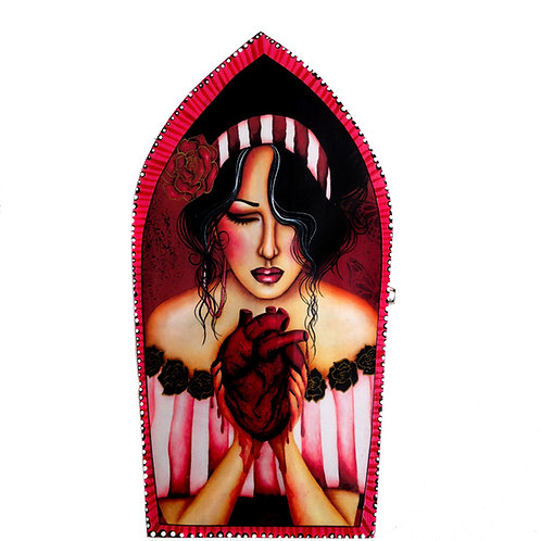 I Broke My Own Heart Keepsake Box