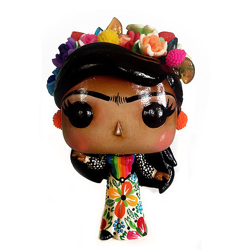 Frida Kahlo No.34 Customized Pop Vinyl