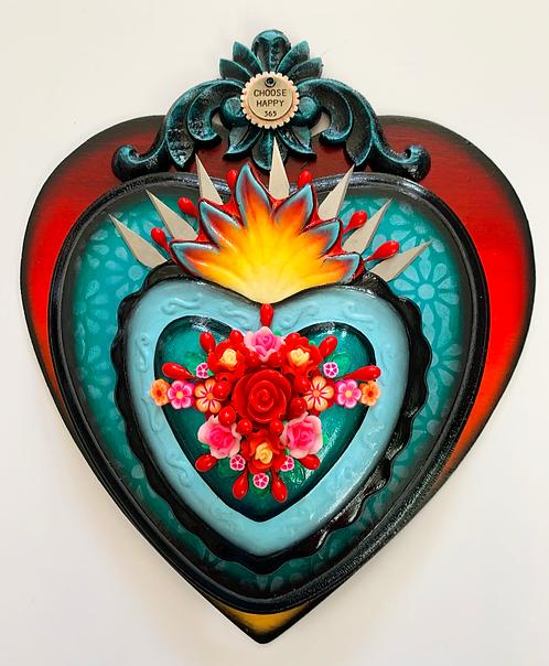 Choose Happy Sacred Heart