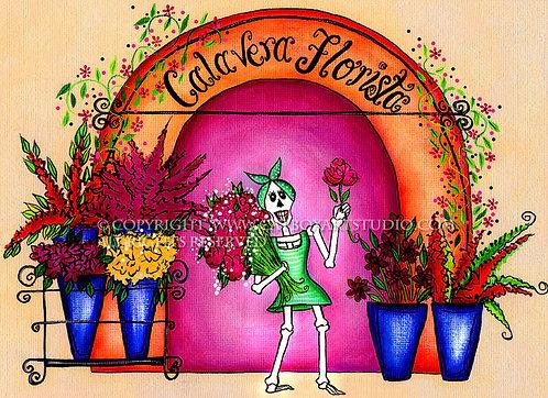 Calavera Florista