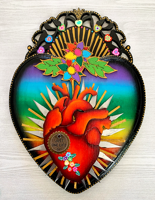 Just One Life Anatomical Heart