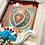 Thumbnail: Sacred Heart with Blue Roses Shadow Box