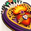 Thumbnail: Small Purple Sacred Heart with Xacto Blades
