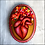 Thumbnail: Blooming Anatomical Heart II Wall Art