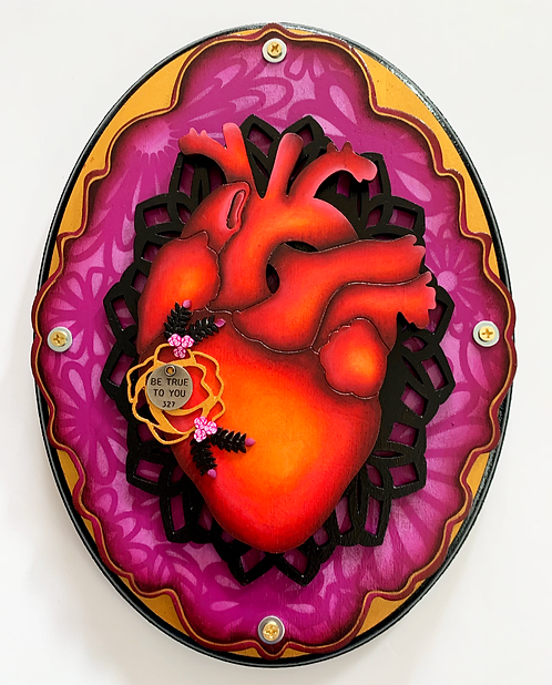 Be True To You Anatomical Heart