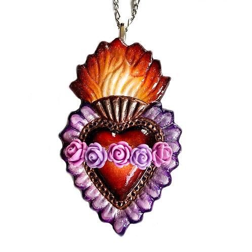 Mi Sagrado Corazon Purple