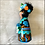 Thumbnail: Frida in Blues with Skull Ornament