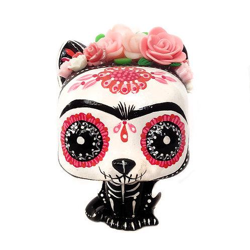 Frida Kahlo Siamese Cat Customized Pop Vinyl