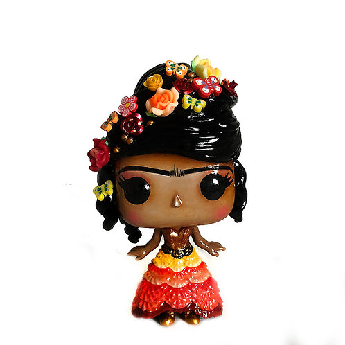 Frida Kahlo No.48 Customized Pop Vinyl