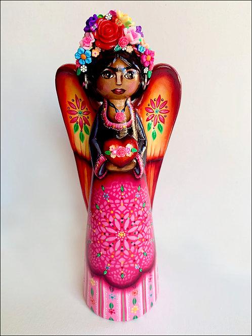 Frida Kahlo With Love Angel No.2