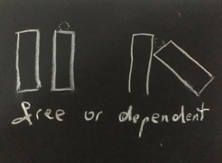 Frei oder abhängig?
