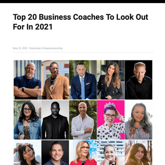 Entrepreneurs Herald: List Momentum Uncensored's Zarine Chamas as part of 'Top 20 Business Coaches'