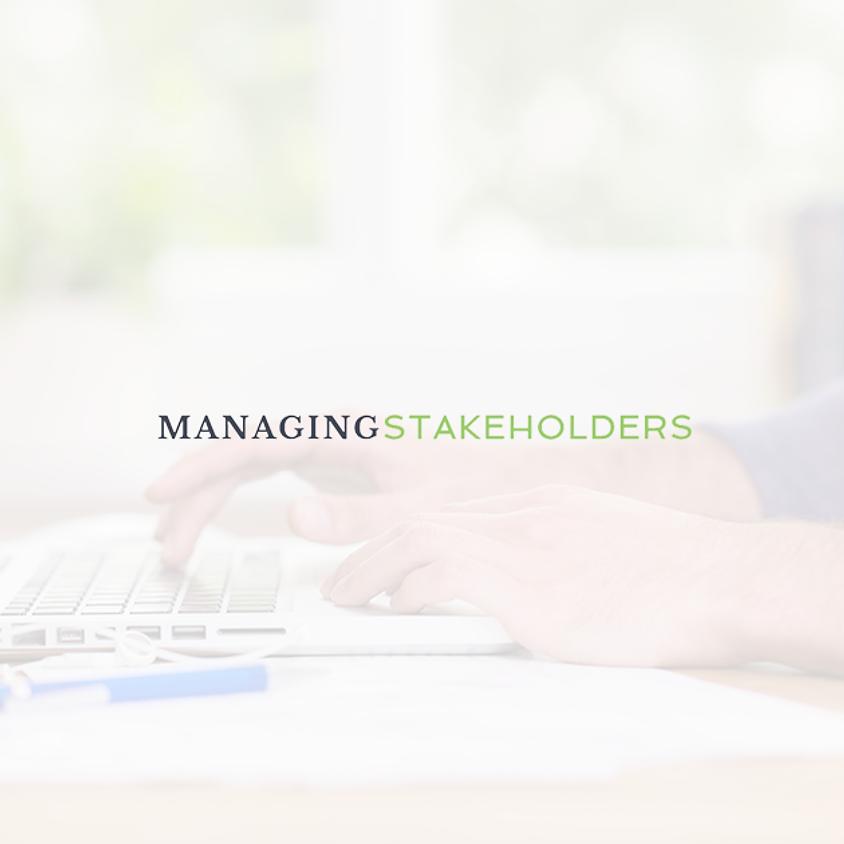 Managing Stakeholders Virtual Workshop