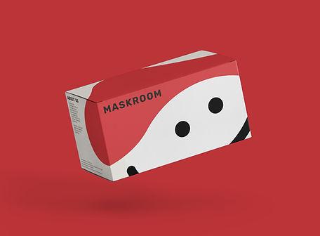 Maskroom Brand Identity, packaging