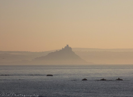 Mist St Michaels Mount