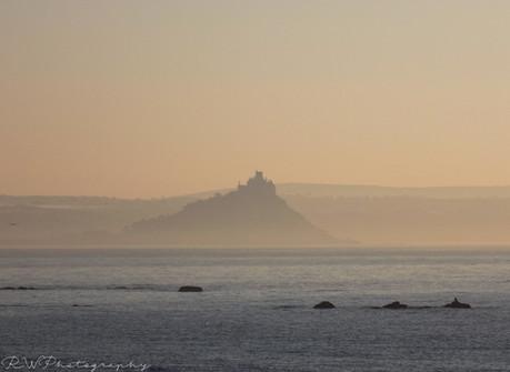 Mist St Michaels Mount