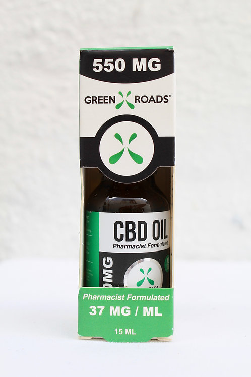 GreenRoads 550mg CBD OIL .5 oz