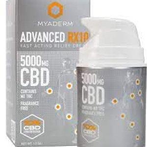 Myaderm Advanced RX Cream 5000mg cbd