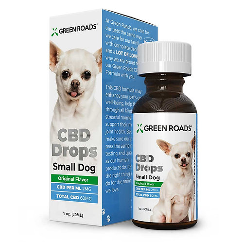 Green Roads CBD for Small Dogs