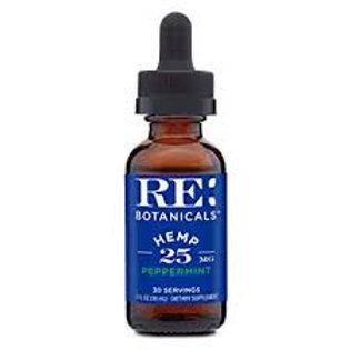 RE Botanicals 25 MG per serving CBD Peppermint