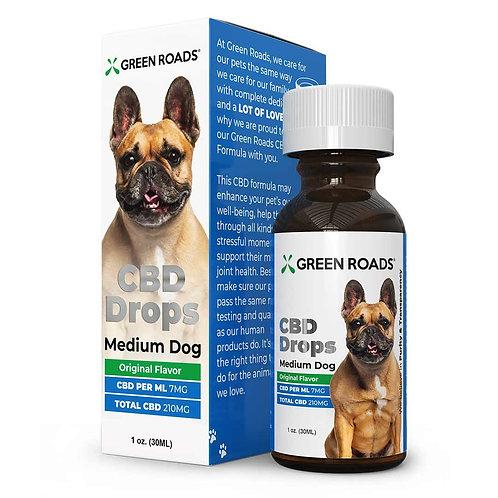 Green Roads CBD for Medium Dogs 210 MG CBD