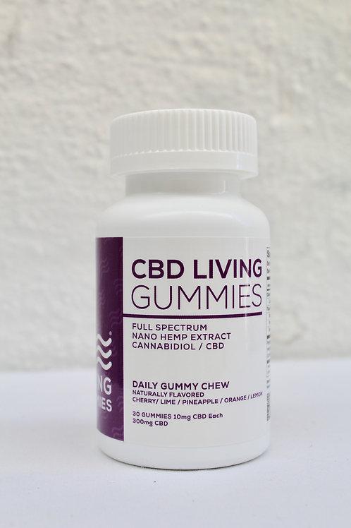 CBD LIVING FRUIT GUMMIES 10 mg CBD EACH