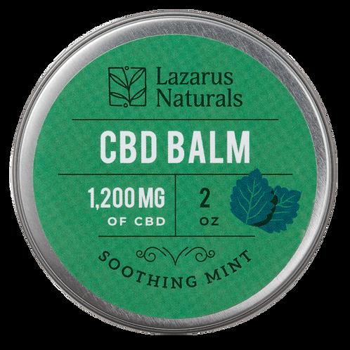 Soothing Mint CBD Balm 1200 MG CBD