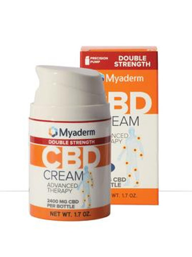 Myaderm Advanced 2400 MG Citrus CBD Topical Dble Strength