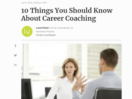 What are the most common misconceptions about career coaching?