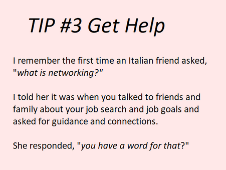 Job Search Tip #3 for International Students and New Immigrants