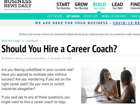 """Should You Hire a Career Coach?"""