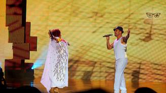 Alcione e Diogo Nogueira cantam